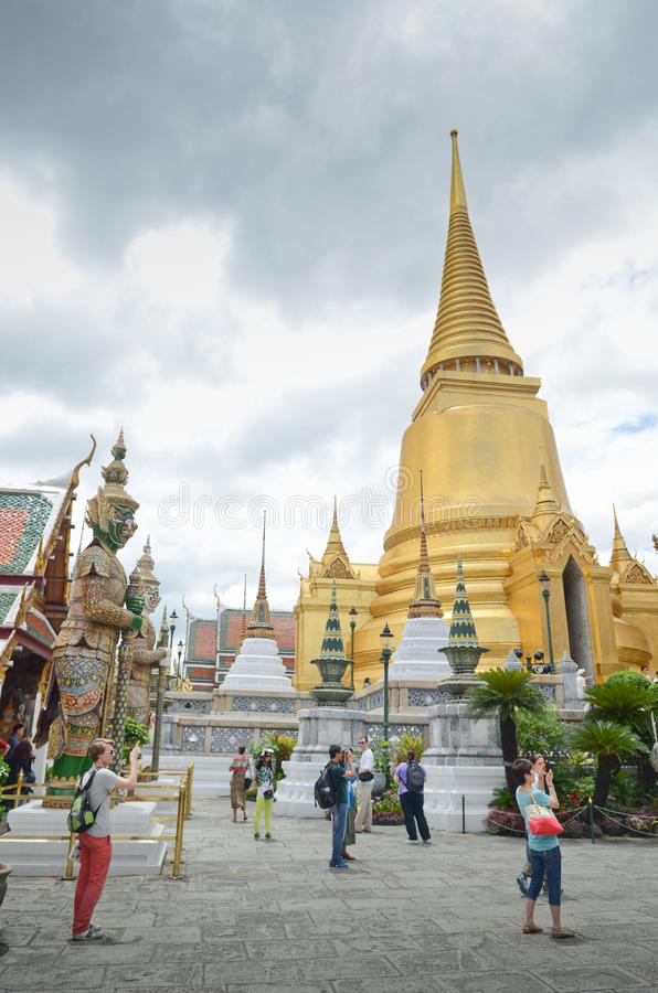 Grand Palace Bangkok stock photography