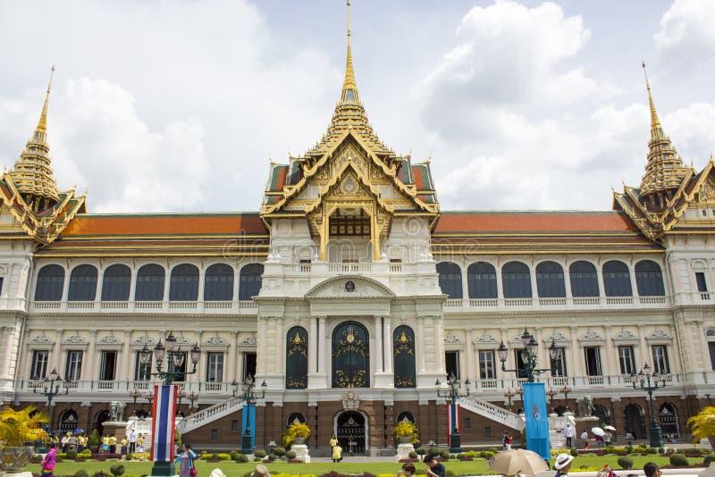 Grand Palace in Bangkok stock image