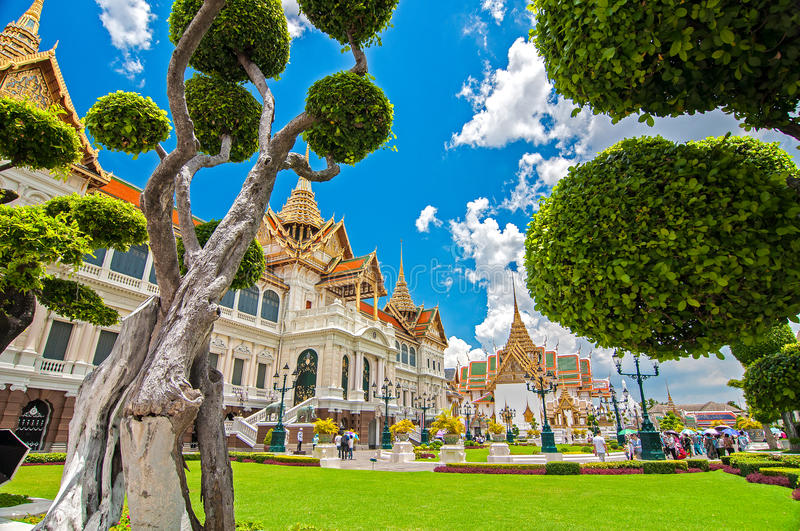 Grand Palace Garden stock photography