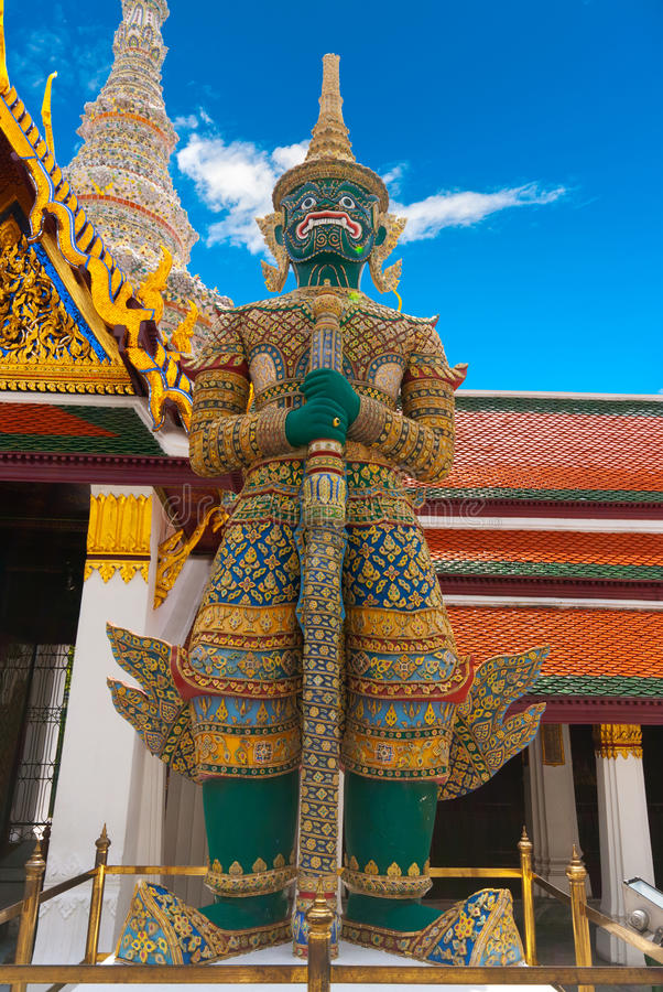 Download Grand Palace Guardian, Bangkok Stock Image - Image of capital, buddha: 22244513