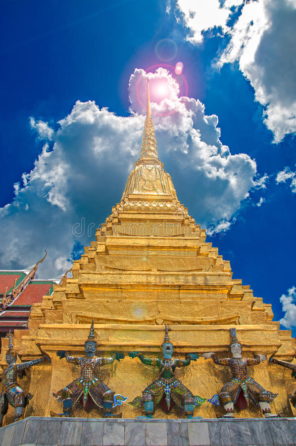 Grand Palace Spire royalty free stock photos