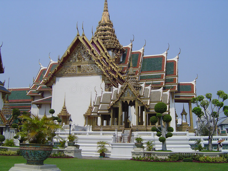 Grand Palace - Thailand stock images