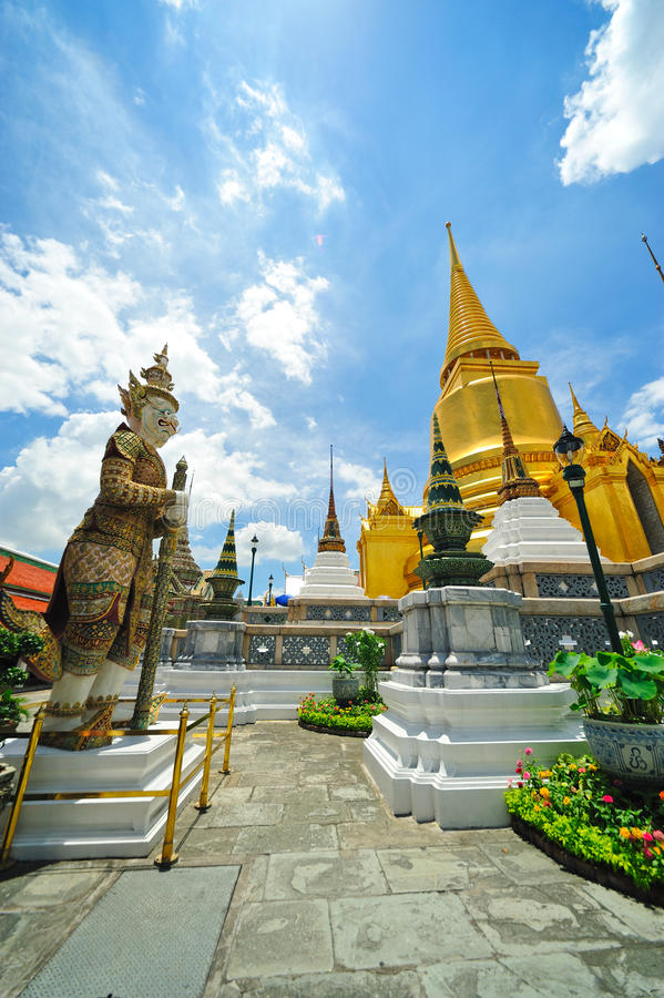 The grand palace, thailand stock image