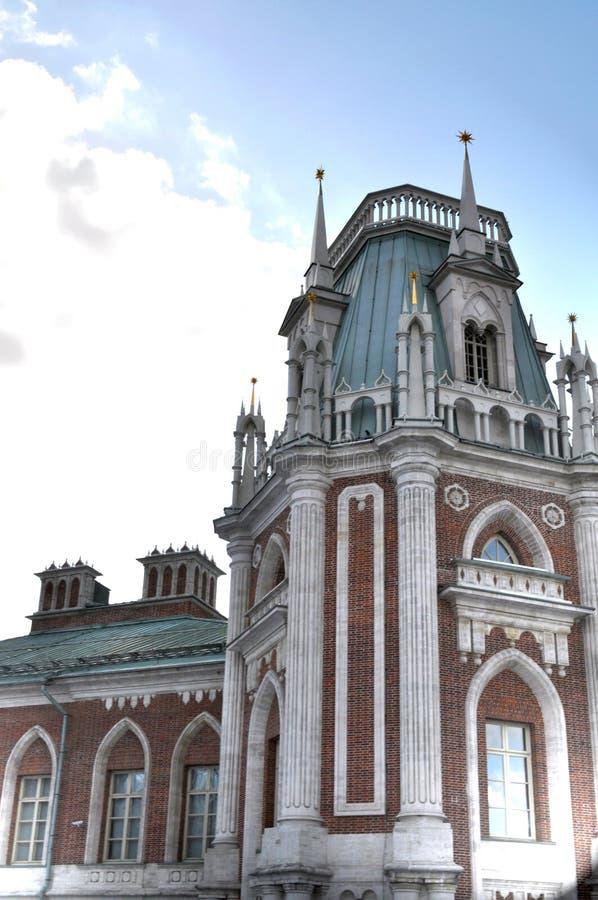 Grand palace in Tsaritsyno royalty free stock images