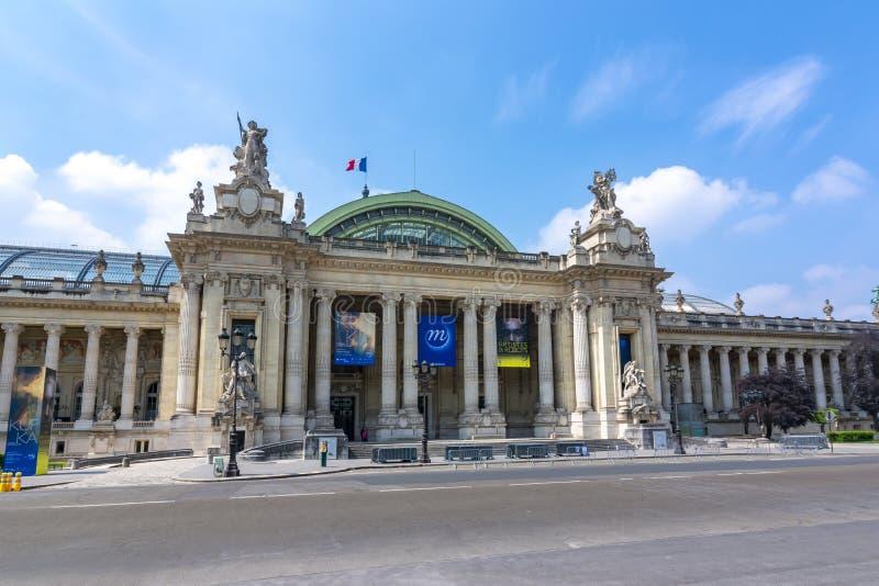 Grand palais Grand Palais à Paris, France images libres de droits