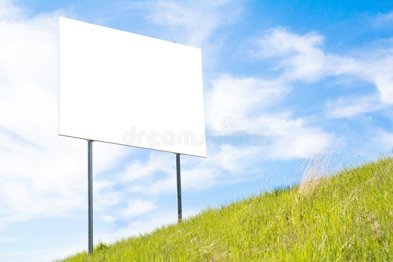 Grand panneau vide de signe photos stock