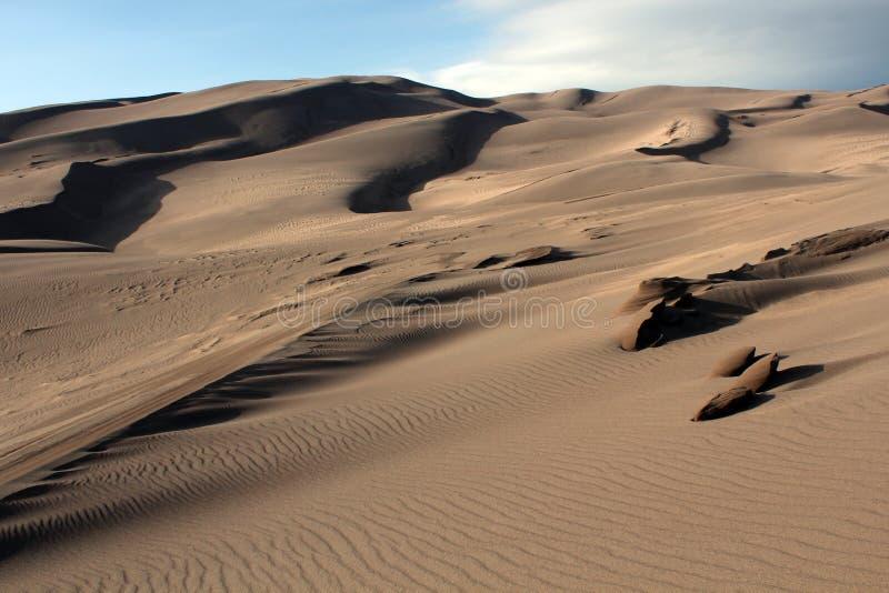 Grand Parc National De Dunes De Sable Image libre de droits