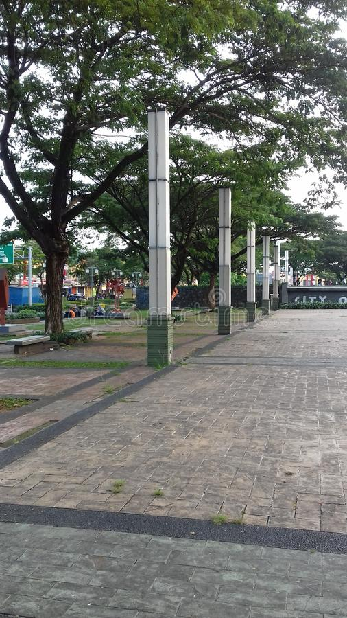 Grand Park Grand Galaxy City Bekasi Indonezja obrazy royalty free