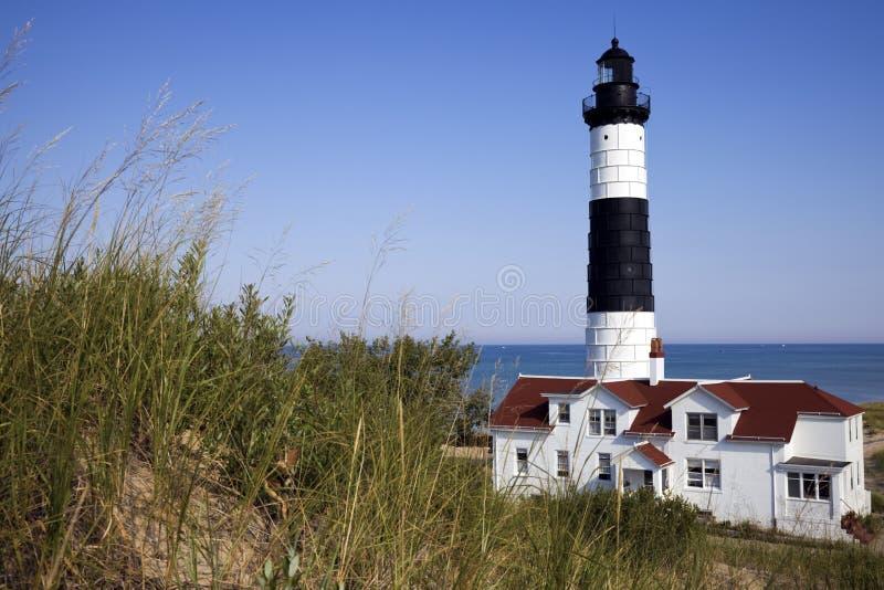 Grand phare de point de sable images stock