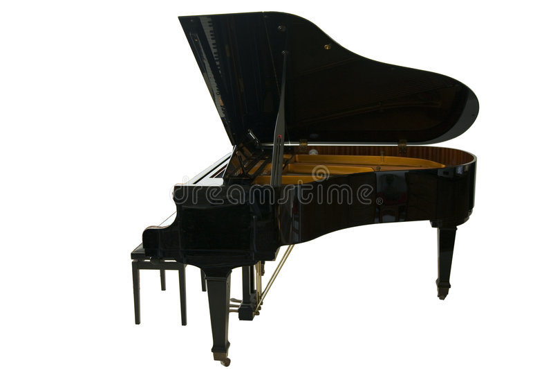 Grand Piano Royalty Free Stock Photography