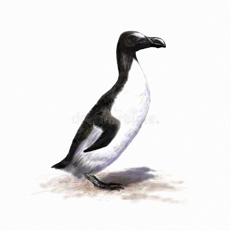 Grand pingouin illustration libre de droits
