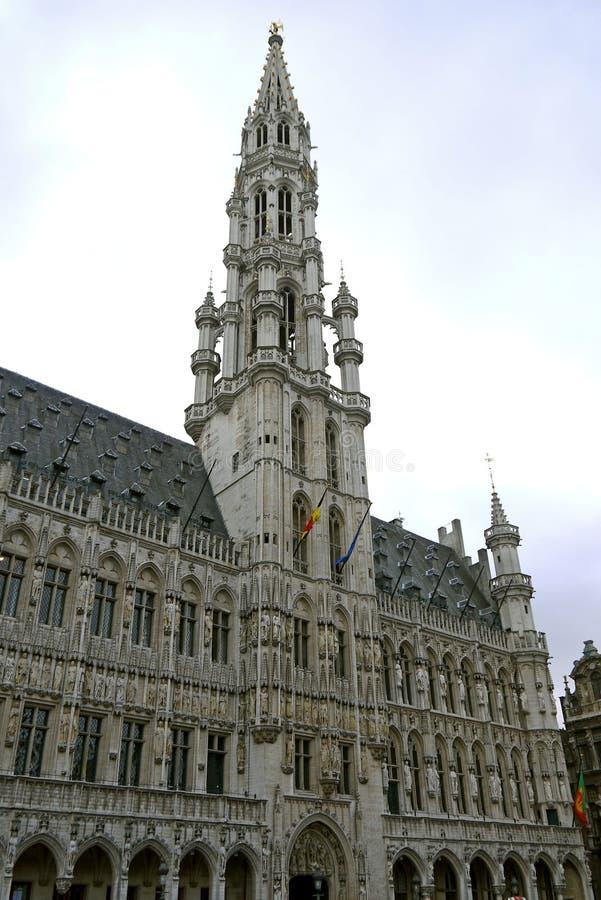 Grand Place, Bruselas bélgica fotografía de archivo libre de regalías