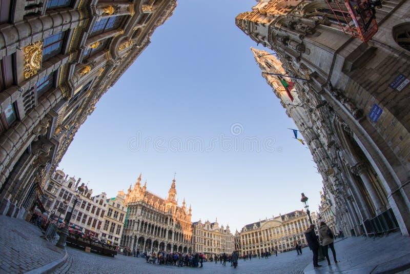 Grand Place, Brussel, België stock afbeelding
