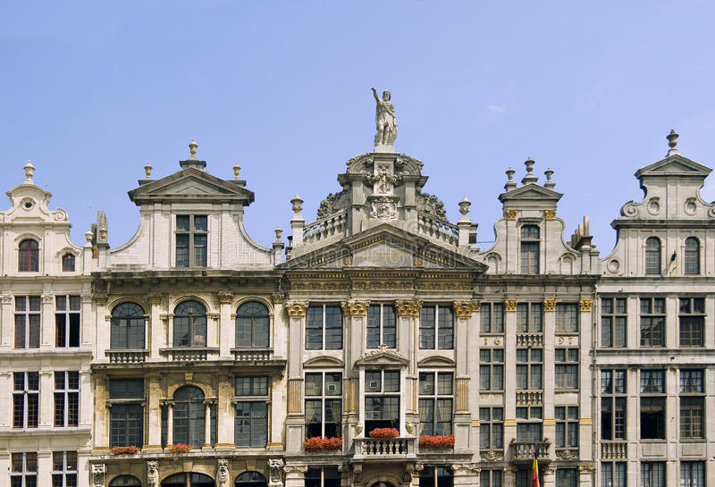 Download Grand-Place in Brussels stock photo. Image of houses - 18512960