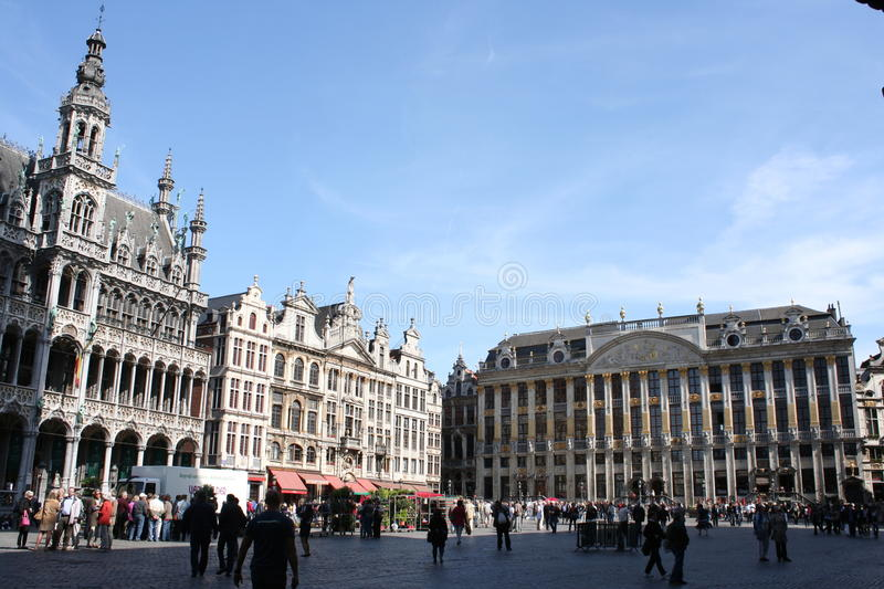Download Grand Place In Brussels Editorial Stock Photo - Image: 29016988