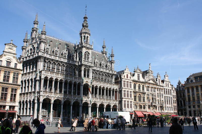 Grand Place In Brussels Editorial Image