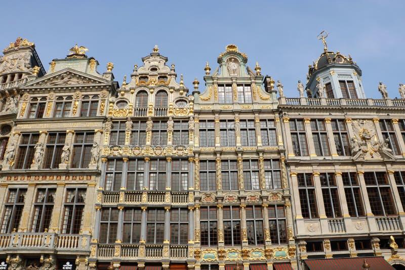 Grand Place, Bruxelas Bélgica imagem de stock royalty free