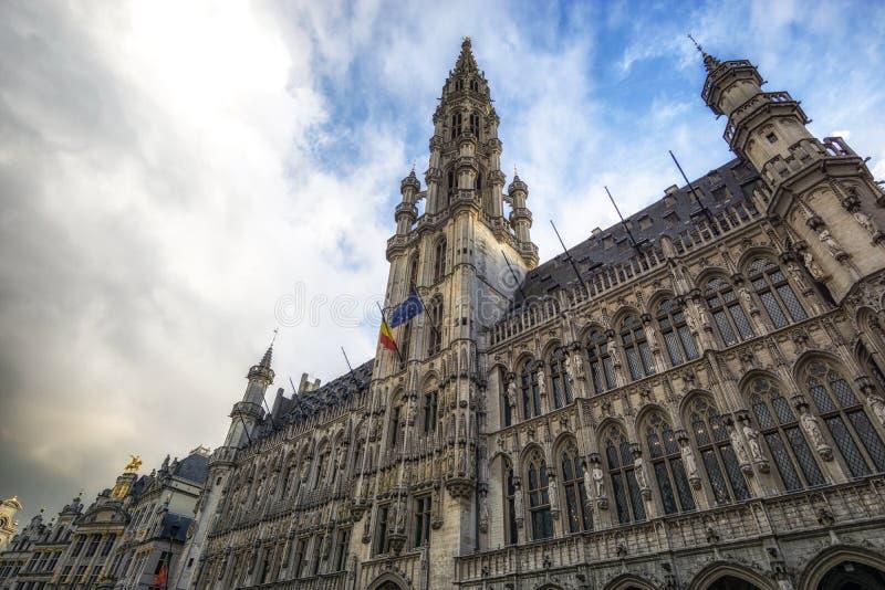Grand Place Bruxelles immagini stock