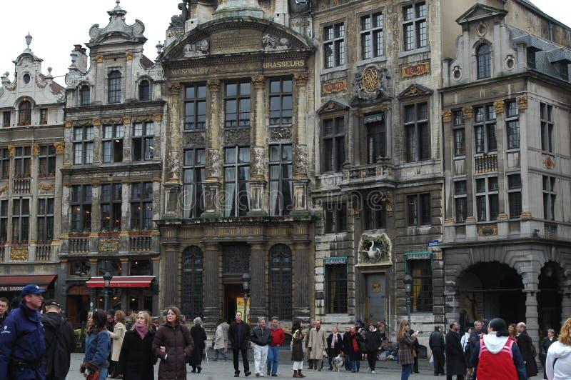 Grand Place a Bruxelles, Belgio immagini stock
