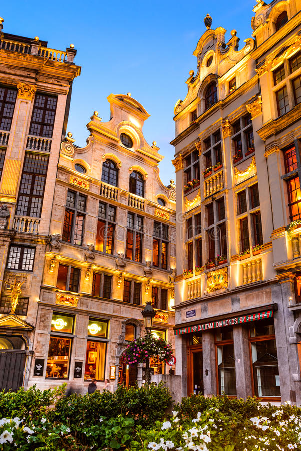 Grand Place, Bruxelles, Belgium royalty free stock images