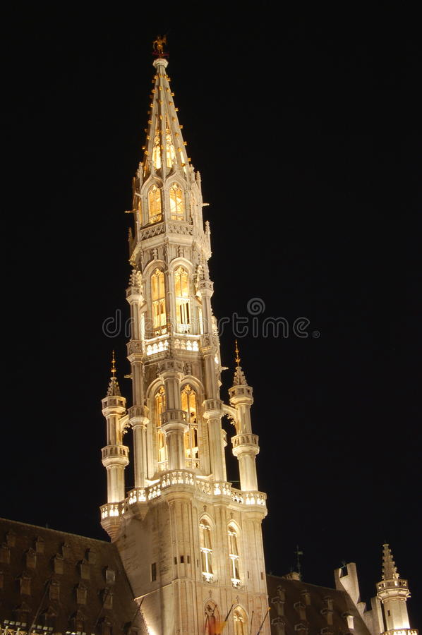 Download Grand Place By Night, Bruxelles, Beglium. Stock Photo - Image: 11646192