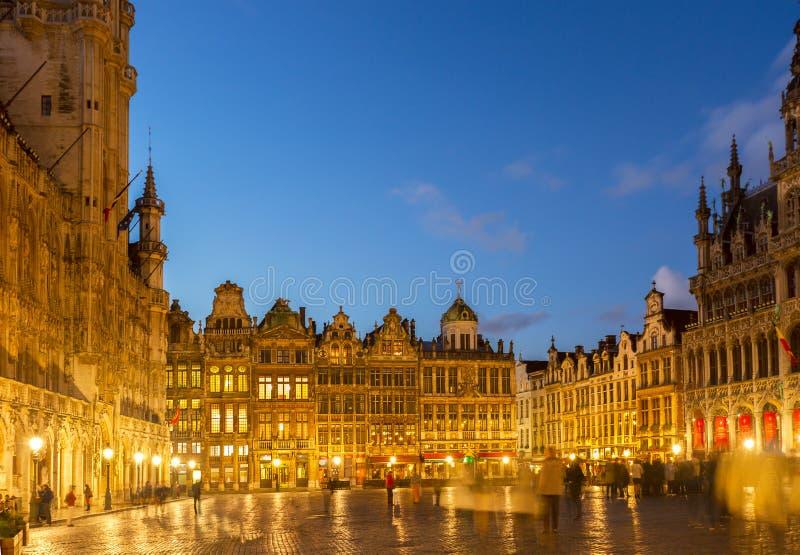 Grand Place -Stadsvierkant, Brusseles royalty-vrije stock afbeelding