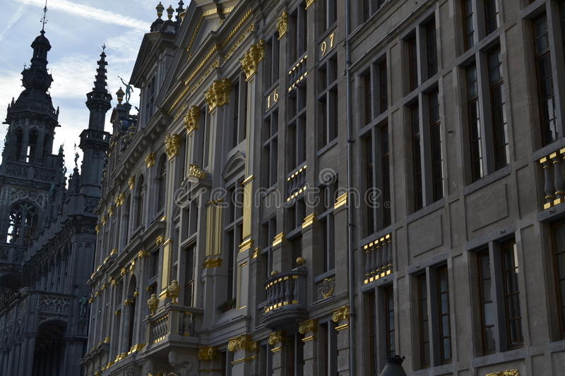 grand-place stock image