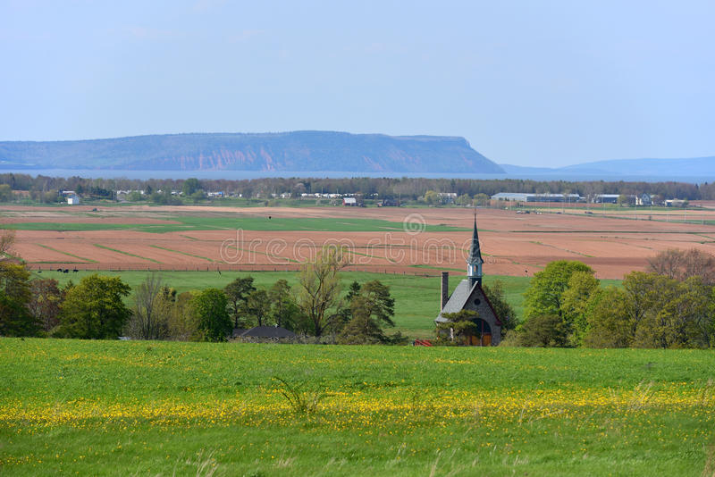 Grand-Pré National Historic Site, Wolfville, NS, Canada stock photos