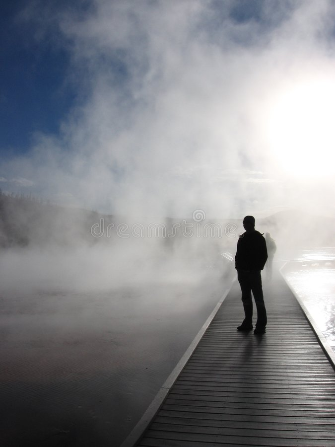 Download Grand Prismatic Spring stock photo. Image of geyser, color - 2670988