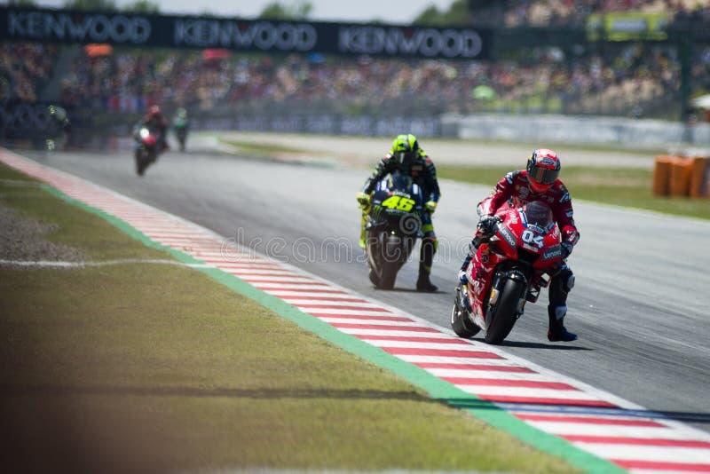 Grand Prix 2019 Catalunya MotoGP στοκ φωτογραφίες