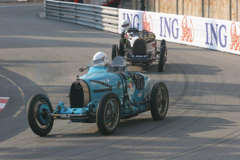 Grand Prix Historique Monte Carlo royalty-vrije stock fotografie