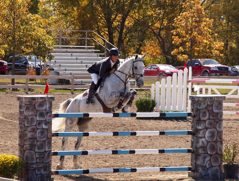 Grand Prix Jumping royalty free stock photography