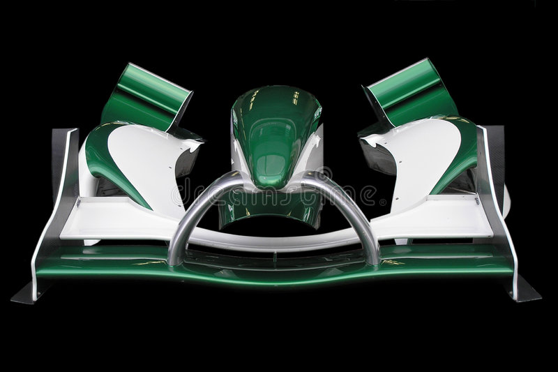 grand prix a przednia wing obraz stock