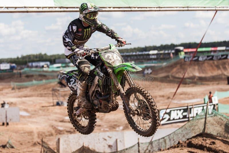 Grand Prix Russia FIM Motocross World Championship Editorial Stock Photo