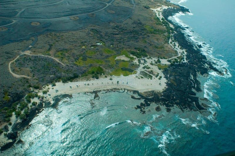 Grand projectile d'antenne d'île images libres de droits