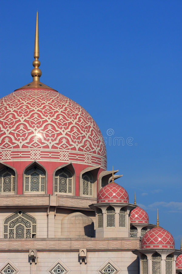 Free Grand Putrajaya Mosque Stock Images - 8599344
