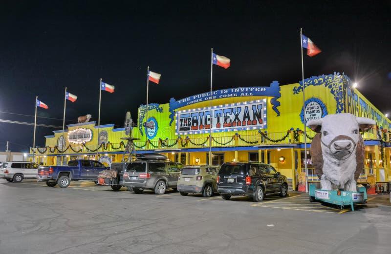 Grand ranch texan de bifteck à Amarillo, TX images libres de droits