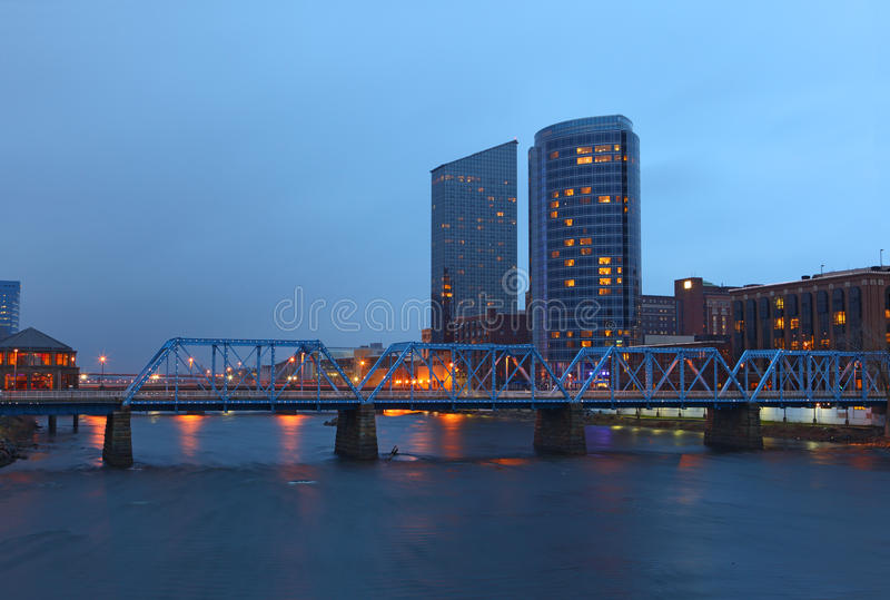 Grand Rapids Μίτσιγκαν στοκ εικόνα με δικαίωμα ελεύθερης χρήσης