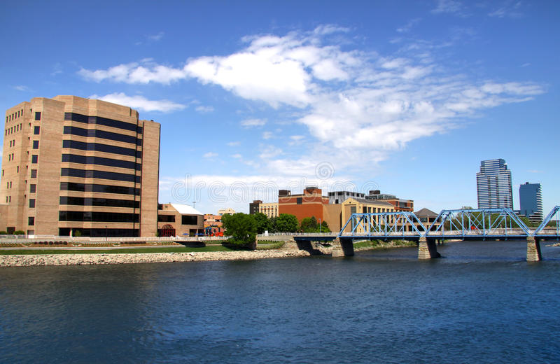 Grand Rapids image libre de droits