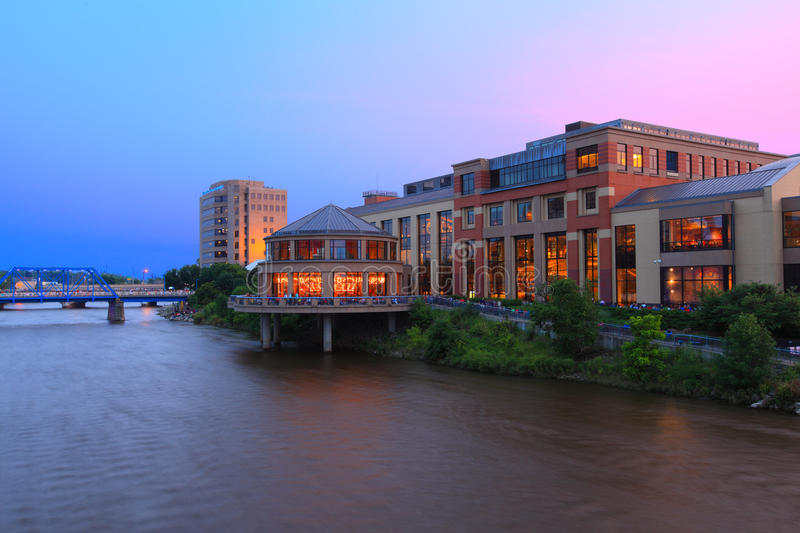 Grand Rapids Architecture royalty free stock photos