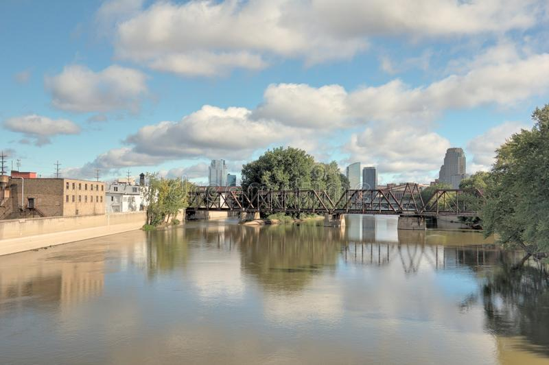 Grand Rapids Michigan stock photo