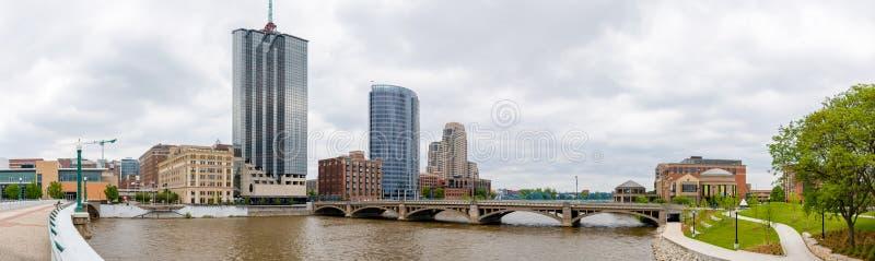 Grand Rapids foto de stock royalty free