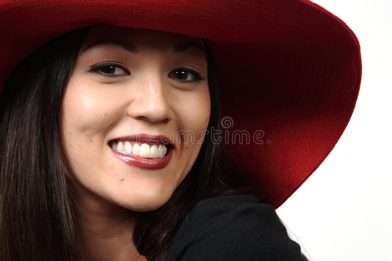 Grand Red Hat photo stock