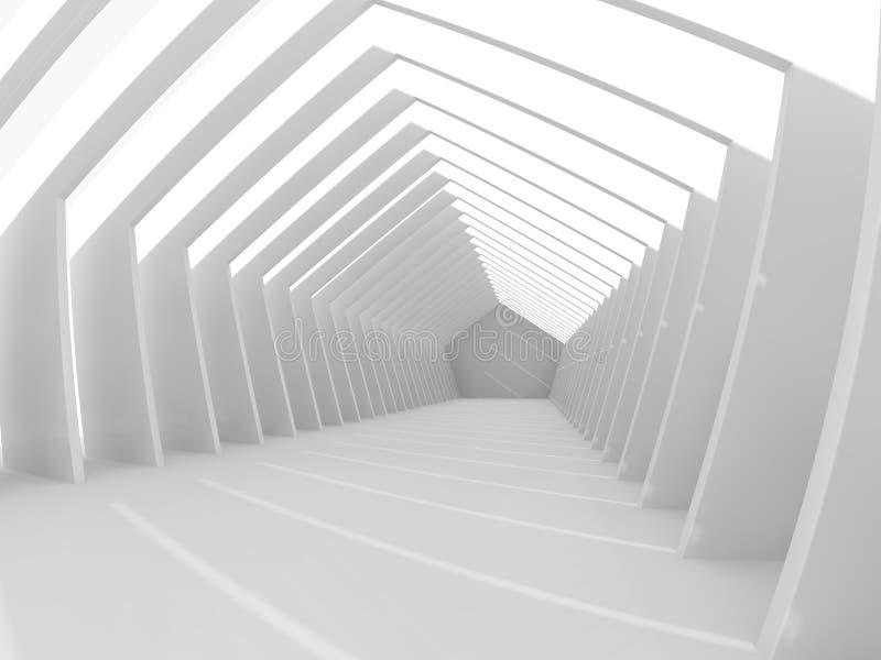 Download Grand Rendu Léger Vide Du Hall 3D Illustration Stock - Illustration du moderne, grand: 76080057