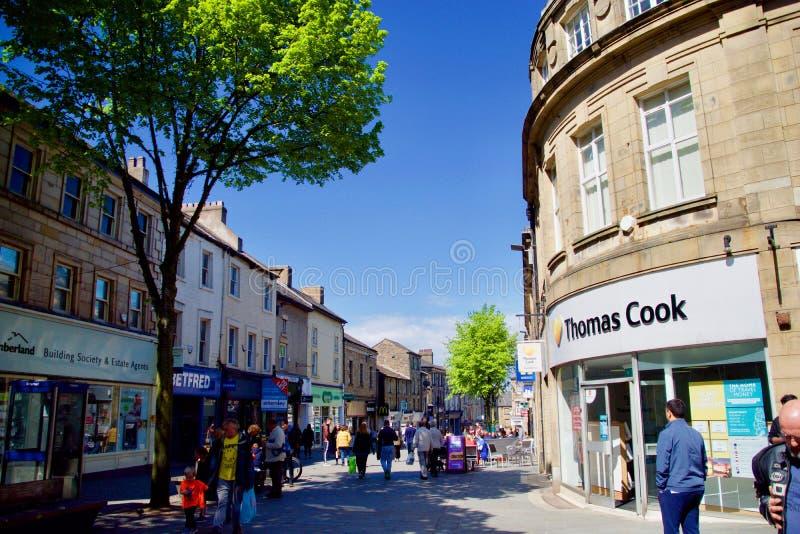 Grand-rue à Lancaster images libres de droits