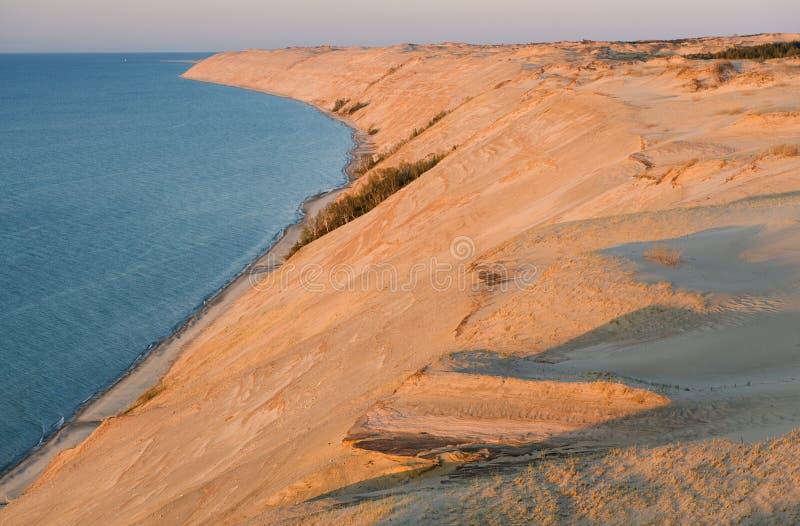 Grand Sable Dunes stock photos