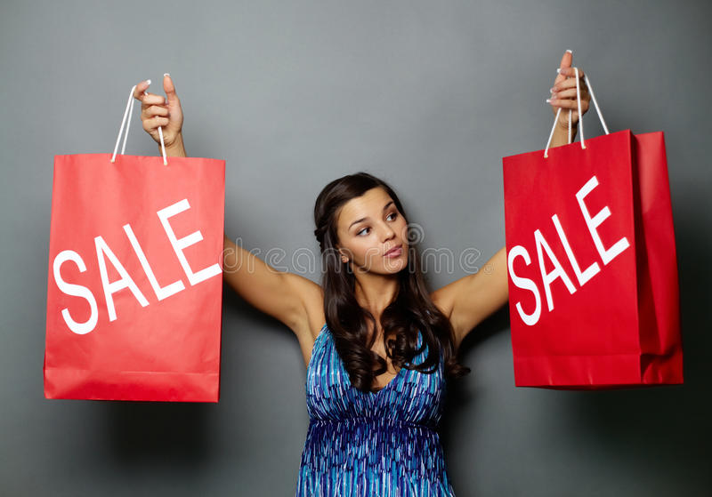 Grand sale royalty free stock photography