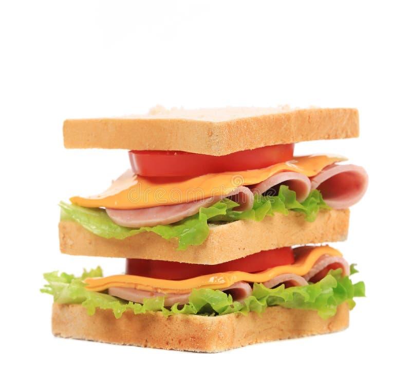 Grand sandwich frais. photo stock