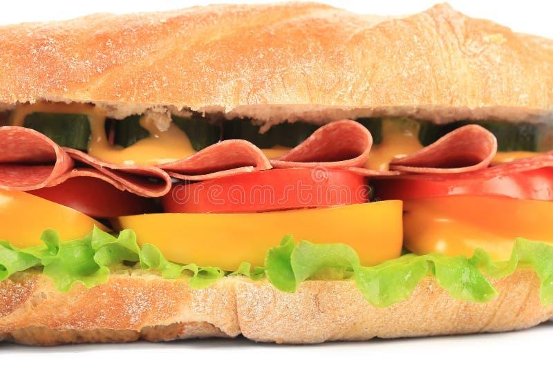 Grand sandwich frais. image stock