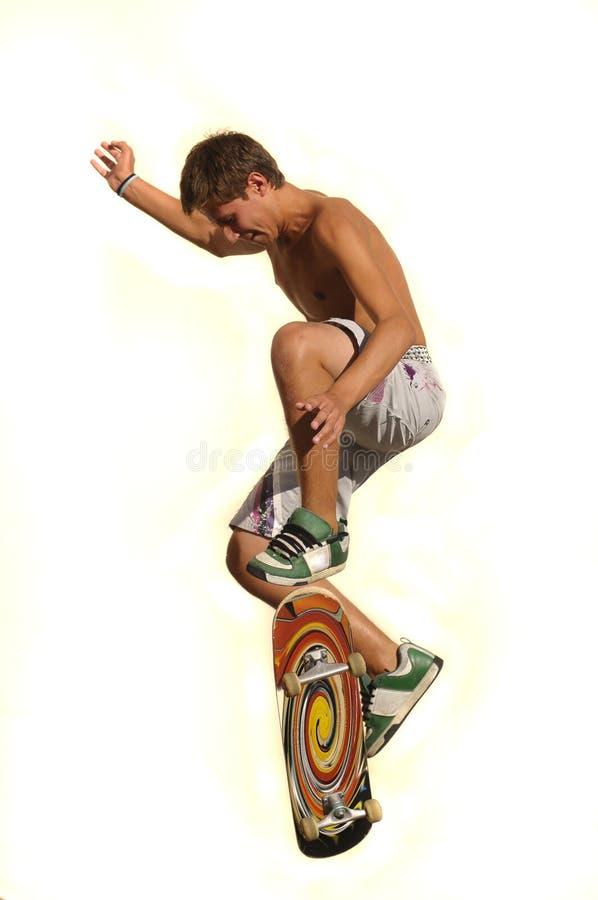 Grand saut image stock